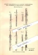 Original Patent - J. Helmreich Und W. Dinkelmeier In Nürnberg , 1884 , Bleistifthalter , Bleistift !!! - Schreibgerät