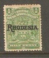 RHODESIA    Scott  # 82*  VF MINT HINGED - Great Britain (former Colonies & Protectorates)