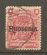 RHODESIA    Scott  # 83  VF USED - Grande-Bretagne (ex-colonies & Protectorats)