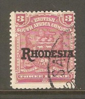 RHODESIA    Scott  # 86 F-VF USED - Great Britain (former Colonies & Protectorates)