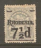 RHODESIA    Scott  # 90*  VF MINT HINGED - Grande-Bretagne (ex-colonies & Protectorats)