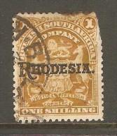 RHODESIA    Scott  # 92 USED FAULTS - Grande-Bretagne (ex-colonies & Protectorats)