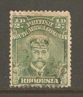RHODESIA    Scott  # 119 F-VF USED - Grande-Bretagne (ex-colonies & Protectorats)