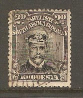 RHODESIA    Scott  # 122 F-VF USED - Great Britain (former Colonies & Protectorates)