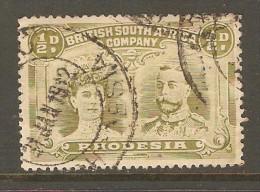 RHODESIA    Scott  # 101 VF USED - Grande-Bretagne (ex-colonies & Protectorats)