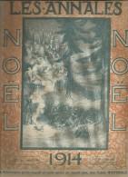 journal LES ANNALES , NOEL , militaria , 1914 , frais fr : 2.50�