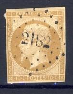 N °13 A Ou B  OBLITERE 1853  Avec Ou Sans Charnière  SCAN RECTO-VERSO CONTRACTUEL - 1853-1860 Napoléon III