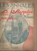 journal LES ANNALES , 13 d�cembre 1914 , dessins de HANSI , militaria  , frais fr : 2.50�