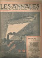 journal LES ANNALES , 22 novembre 1914 , ZEPPELIN survolant la mine , militaria  , frais fr : 2.50�