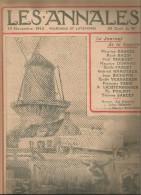 journal LES ANNALES , 15 novembre 1914 , auto-mitrailleuse Belge , militaria  , frais fr : 2.50�