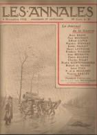 journal LES ANNALES , 8 novembre 1914 , le journal de la guerre , canon , militaria  , frais fr : 2.50�