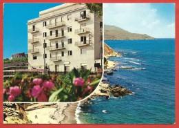 CARTOLINA VG ITALIA - CASTELLAMMARE DEL GOLFO (TP) - Hotel Punta Nord Est - 10 X 15 - ANNULLO 1987 - Hotel's & Restaurants