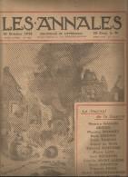 journal LES ANNALES , 18 octobre 1914 , le journal de la guerre , croiseur anglais , militaria  , frais fr : 2.50�