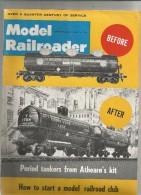 Revue De Modélisme , Chemin De Fer , Trains , MODEL RAILRODER , 1962  , Frais Fr : 2.50€ - Hobby En Creativiteit