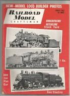 Revue De Modélisme , Chemin De Fer , Trains ,RAILROAD MODEL Craftsman , 1962  , Frais Fr : 2.50€ - Loisirs Créatifs