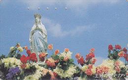 Télécarte Japon / 110-011 - RELIGION - VIERGE MADONE - MADONNA Japan Phonecard Telefonkarte / Krone - 1394