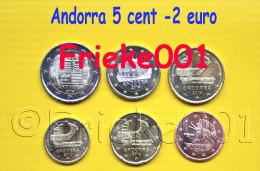 Andorra - 5 Cent Tot 2 Euro 2014 Unc. - Andorra