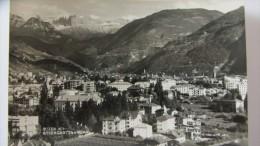 AK Mit Ansicht Von Bozen (Bolzano) Mit Rosengartengruppe Aus Walter Krämers Alpenländischer Kunstverlag - Bolzano (Bozen)