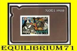 BL47** (1076) Noël 1980 / Kerstmis 1980 - ZAIRE - 1980-89: Neufs