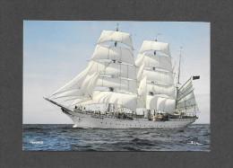BATEAUX - VOILIERS - SAILLING SHIP - TOVARICH - GRAND VOILIER MAGNIFIQUE - TRAINING SHIP - BUILT IN 1933 - PHOTO BEKEN - Veleros