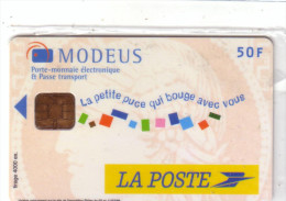 FRANCE MONEO LA POSTE MODEUS 50F NSB MINT IN BLISTER RARE - Monéo