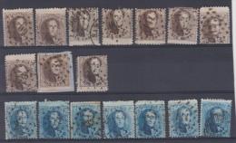 Belgique N°14 X 10 + N° 15 X 7 Tous Bord De Feuille - Idéal Pour Planchage à 1€ Pièce - 1863-1864 Medaillen (13/16)