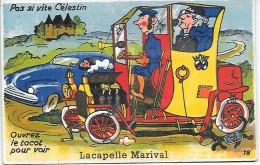 Ouvrez Le Tacot Pour Voir LACAPELLE MARIVAL - CARTE A SYSTEME - Lacapelle Marival