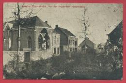 Zonnebeke- Duitse Postkaart - Von Den Engländern Zerschossen - Feldpost 1916 ( Verso Zien ) - Zonnebeke