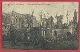 Zonnebeke- Duitse Postkaart - Ruinen - Durch Feindliche Artillerie Zerstört - Feldpost 191? ( Verso Zien ) - Zonnebeke