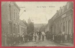 Ledegem - Kerkstraat - Geanimeerd - 1915 ( Verso Zien ) - Ledegem