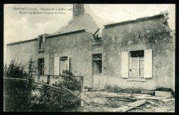 45 - CRAVANT - Désastre Du 4 Juillet 1905 - Le Cyclone - Maison De Mme Valadon Pescheux - France