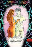 Illustrateur CHARLES BERG Le Zodiac Etrusque MARBRE  (nu Nue Horoscope) E 9  FORUM CARTES Et COLLECTIONS* PRIX FIXE - Illustrators & Photographers