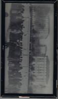 Corse Match De Foot Sur La Place De Bastia 14 X 25,5 En 1914 Dans Un Cadre Sous Verre - Lieux
