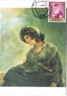 11657. Tarjeta Maxima Toledo 1995. Pintor GOYA, Librera De Calle Carretas - Cartoline Maximum