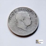 Gran Bretaña - 1/2 Crown - 1817 - Ohne Zuordnung