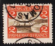 1905. St. Thomas Harbour. 2 Fr. Brown/red. (Michel: 36) - JF127963 - Dänisch-Westindien