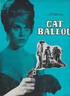 PUBLICITE DE  PRESSE -MANUEL D´EXPLOITATION - FILM : CAT BALLOU - ANNEE 1965 - Cinema Advertisement