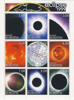 MRU-BK1-145-146 MINT PF/MNH ¤ ECLIPSE 1999 2 SHEETS  ¤ SPACE - RUIMTEVAART - Ohne Zuordnung