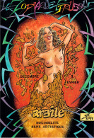 Illustrateur CHARLES BERG Le Zodiac Etrusque ARGILE   (nu Nue Horoscope) E16 FORUM CARTES Et COLLECTIONS* PRIX FIXE - Illustrators & Photographers