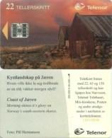 Telefonkarte Norwegen - Küste Jären - N-49 4/95 - Norwegen