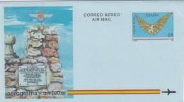 España Aerograma Nº 218 - Enteros Postales