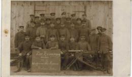 Thème - Guerre 14-18 - Militaires Allemands Ou Alsaciens- I. Abteilung Des Waffenmeisterkursus -  Pologne Krekow Stettin - Regiments