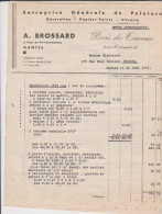 Devis 1942 Entreprise De Peinture A Brossard Nantes 5 Pages - France