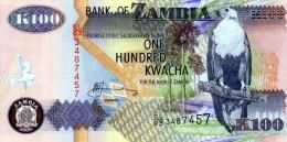 NEUF : BILLET DE 100 KWACHAS - ZAMBIE / ZAMBIA - 2006 - Zambie