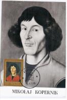 Poland 1979 Mikolaj Kopernik, Nicolaus Copernicus, Canceled In Krakow - Maximumkarten