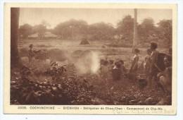 CPA ANIMEE BIENHOA, DELEGATION DE CHUA - CHAN, CAMPEMENT CHO - MA, COCHINCHINE, VIET NAM - Viêt-Nam