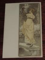 ART DECO WOMAN WITH HAT, Kunstler Postkarten, Serie Nº 1053, DIE 4, Meissner & Buch, No Circulada - Illustrateurs & Photographes
