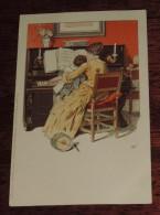 Kunstler Postkarten, Serie Nº 1001, Meissner & Buch, No Circulada - Ilustradores & Fotógrafos