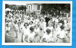OV1002, Défilé, Fanfare, Lot Origine Neuchâtel, Jeunes Filles, Cortège, Costume, Folklore, Photo Messerli, Non Circulée - Phantasie