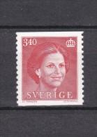 QUEEN Königin Le Reine SYLVIA OF SWEDEN SUEDE SCHWEDEN 1986 MNH MI 1371 - 3.40  Kr  - Slania Engraved Stamp - Koniklijke Families